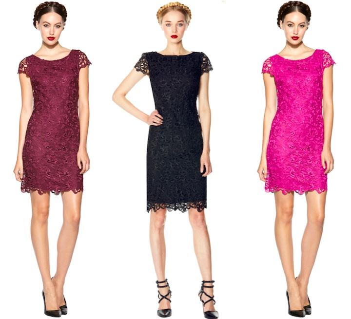 Alice Olivia кружевные платья