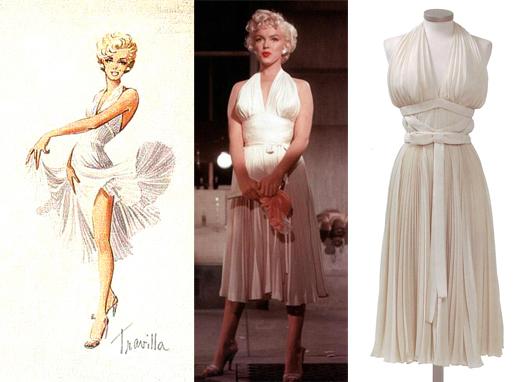 Famous dress Marilyn Monroe 11