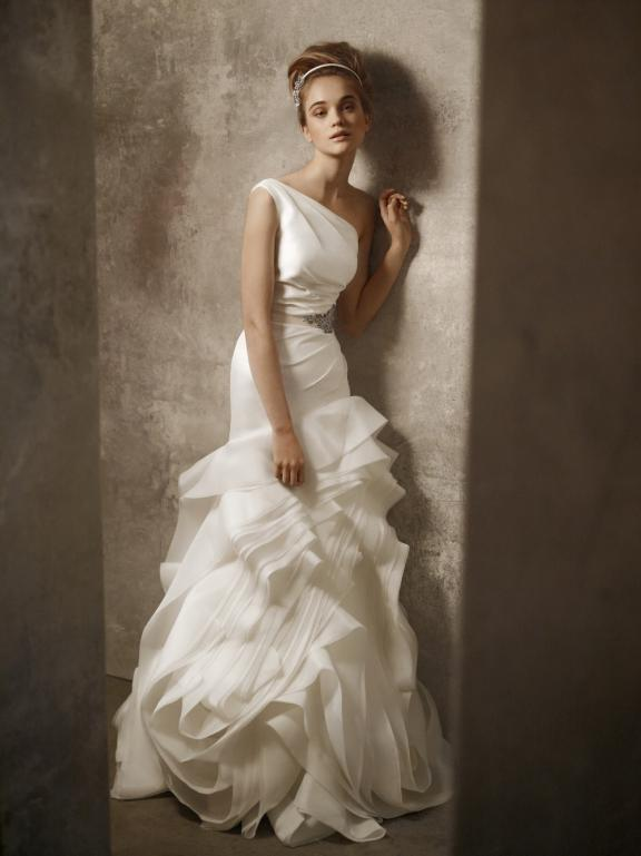 2011-wedding-dresses-vera-wang-white-vw351010-one-shoulder-ivory-gown-ruffled-textured-skirt
