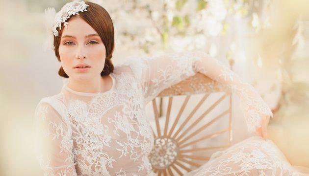 Россыпь жемчуга в волосах: лучшие свадебные украшения для волос
