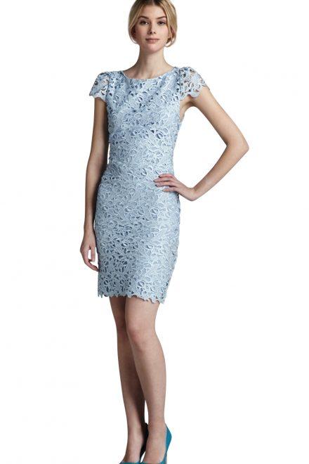 7d49103868d Нежно-голубое кружевное платье - прокат и аренда в Киеве от Rent A Brand