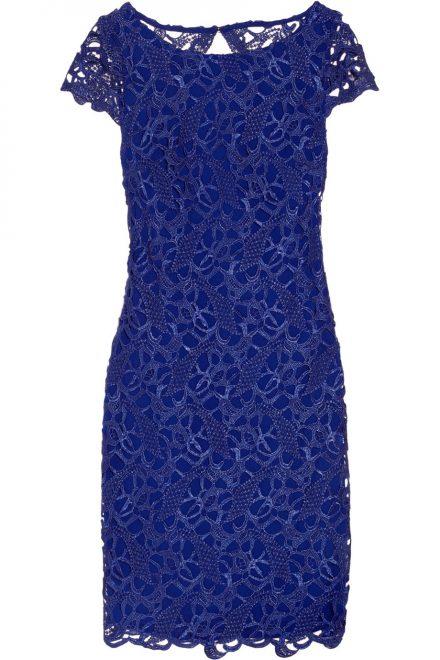 0fd7128e103 Синее кружевное коктейльное платье - прокат и аренда в Киеве от Rent ...