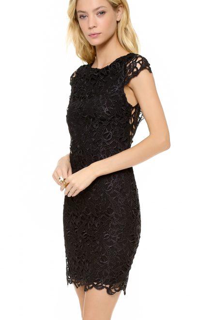 44d9481d8dd Черное кружевное платье - прокат и аренда в Киеве от Rent A Brand