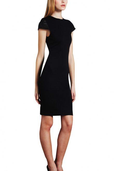 46fab8ea0e8 Платье с кожаными рукавами - прокат и аренда в Киеве от Rent A Brand