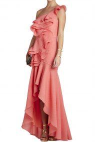 Коралловое платье Susanna