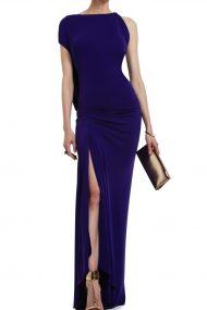 Вечернее платье с асимметричным вырезом Fran
