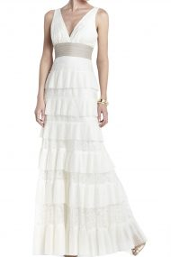 Вечернее кружевное платье Carly