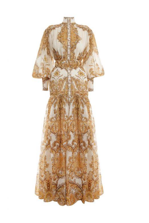 Розкішна подіумна сукня Zippy Billow
