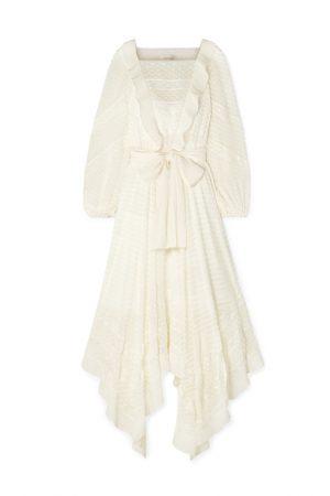 Шелковое асимметричное платье Hanky