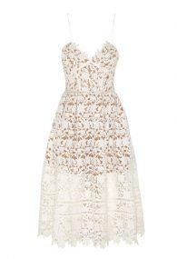 Белое кружевное платье Azaelea