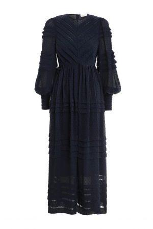 Сукня глибокого синього відтінку